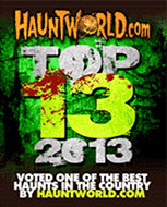Hauntworld Top 13 Haunted Houses of 2013