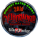 Highest Rated Haunt 2016 - TheScareFactor.com