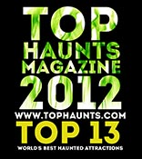 Top Haunts 2012 Top 13