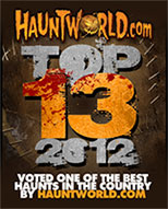 Hauntworld Top 13 Haunted Houses of 2012