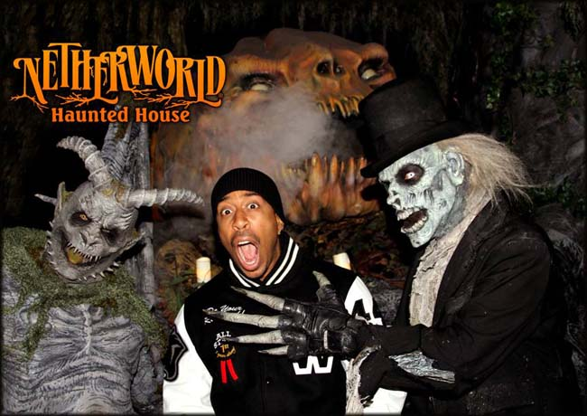 Ludacris Stops By Netherworld Haunted House Netherworld