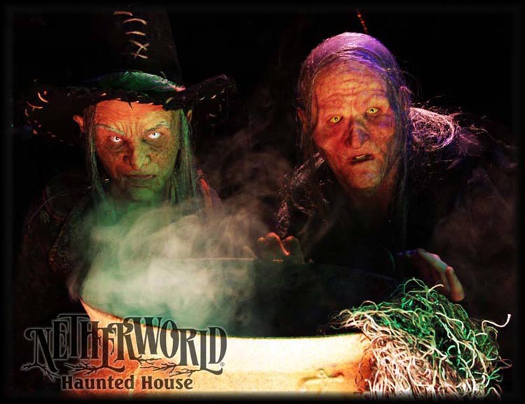 Evil is brewing at NETHERWORLD Haunted House!