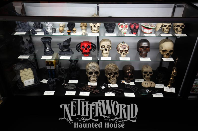 Gift Shop Netherworld Haunted House