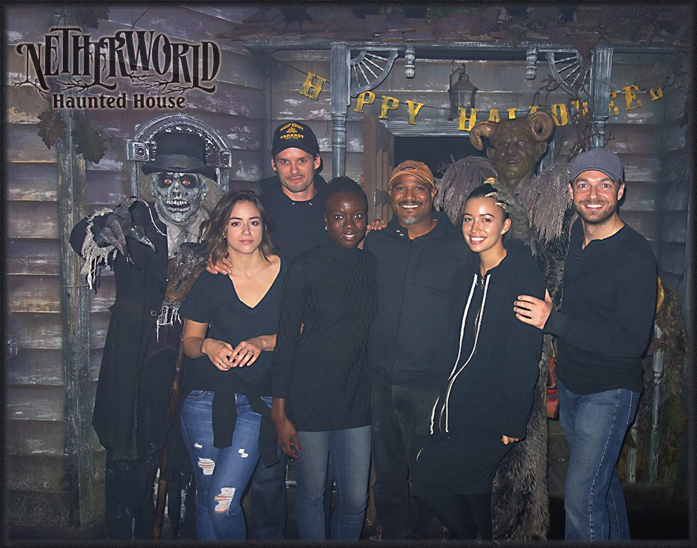 WAlking Dead Cast NETHERWORLD