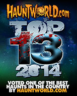 Hauntworld Top 13 Haunted Houses of 2014